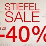 Großer Stiefel Sale bei 3suisses